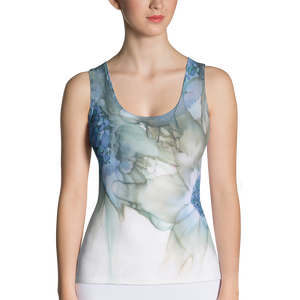 Tank Top:  Blue Rhapsody