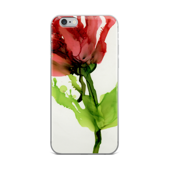 iPhone Case:  Floppy Poppy