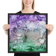 Load image into Gallery viewer, Framed poster:  Tofino by Boat