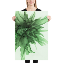 Load image into Gallery viewer, Frameless Poster:  Green Queen