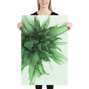 Frameless Poster:  Green Queen