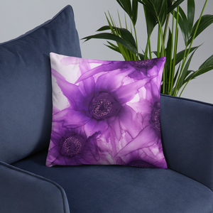 Basic Pillow:  Purple Phaze