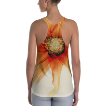 Load image into Gallery viewer, Women's Racerback Tank:  Mandarin Orange