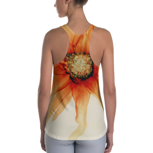 Women's Racerback Tank:  Mandarin Orange