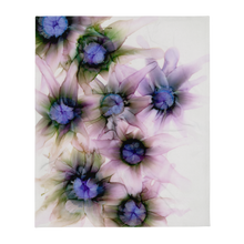 Load image into Gallery viewer, Throw Blanket:  Lavender Lights