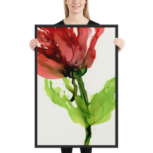 Load image into Gallery viewer, Framed poster:  Floppy Poppy