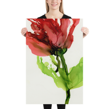 Load image into Gallery viewer, Frameless Poster:  Floppy Poppy