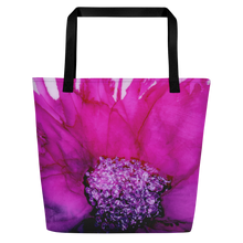 Load image into Gallery viewer, Tote with pocket:  Lady Magenta