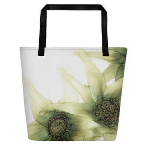 Tote with pocket:  Lucky #7