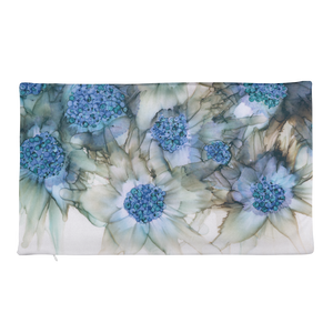 Premium Pillow Case:  Blue Rhapsody