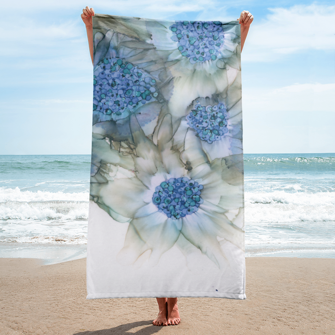 Towel:  Blue Rhapsody