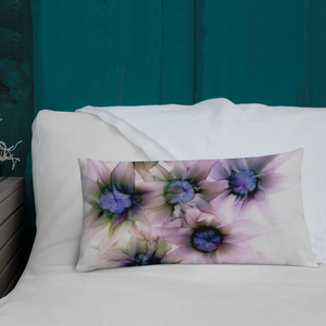 Premium Pillow:  Lavender Lights