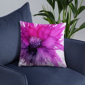 Basic Pillow:  Lady Magenta