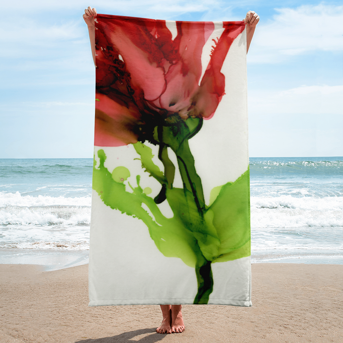 Towel:  Floppy Poppy