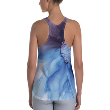 Load image into Gallery viewer, Women's Racerback Tank:  Blue Moon