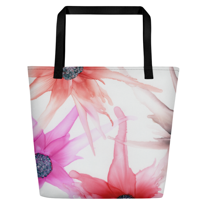 Tote with pocket:  Moulin Rouge