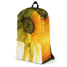 Load image into Gallery viewer, Backpack:  September Sunflower