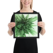 Load image into Gallery viewer, Framed poster:  Green Queen