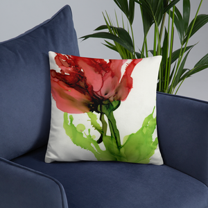 Basic Pillow:  Floppy Poppy