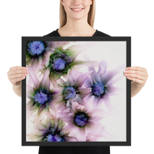 Load image into Gallery viewer, Framed poster:  Lavender Lights