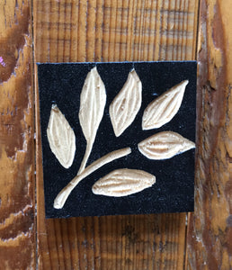 "Ash Leaves Magnet - 3""x3"""