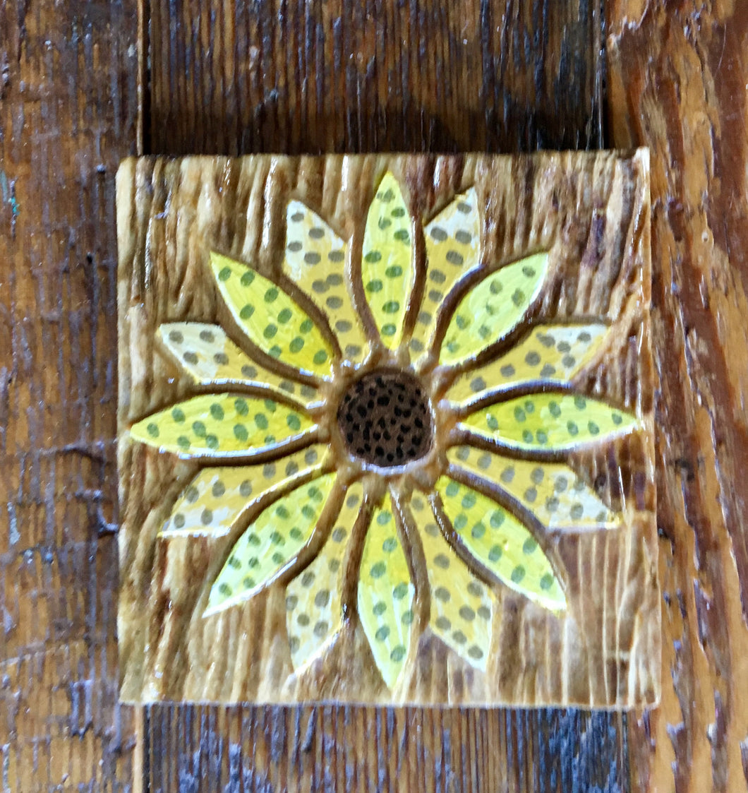 Sunflower Magnet - 3