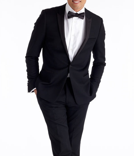 Peaked Lapel Tuxedo from The Black Tux