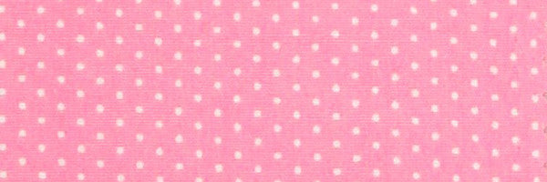 Photo of the Polka Dots White on Pink Contrast Fabric