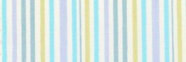 Photo of the Stripes in Turquoise, Blue, Green, and Gray Contrast Fabric