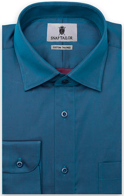 The Majorca Blue Iridescence Casual Shirt