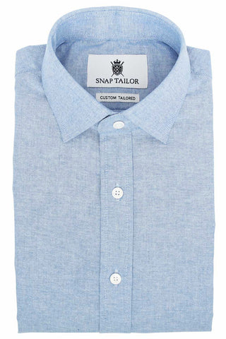 Photo of the Chambray Casual Shirt in Blue