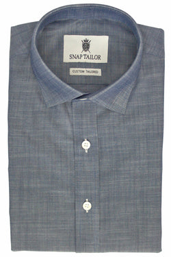 Photo of Chambray Casual Shirt in Midnight Blue