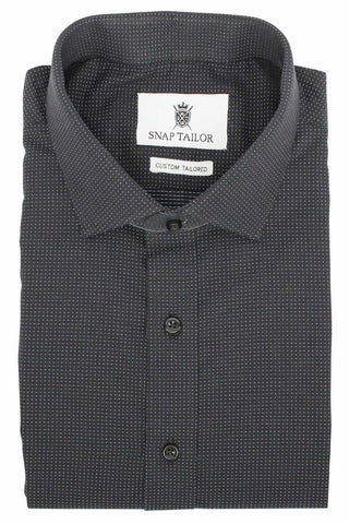 Photo of the Dots Casual Shirt in Black / Light Blue