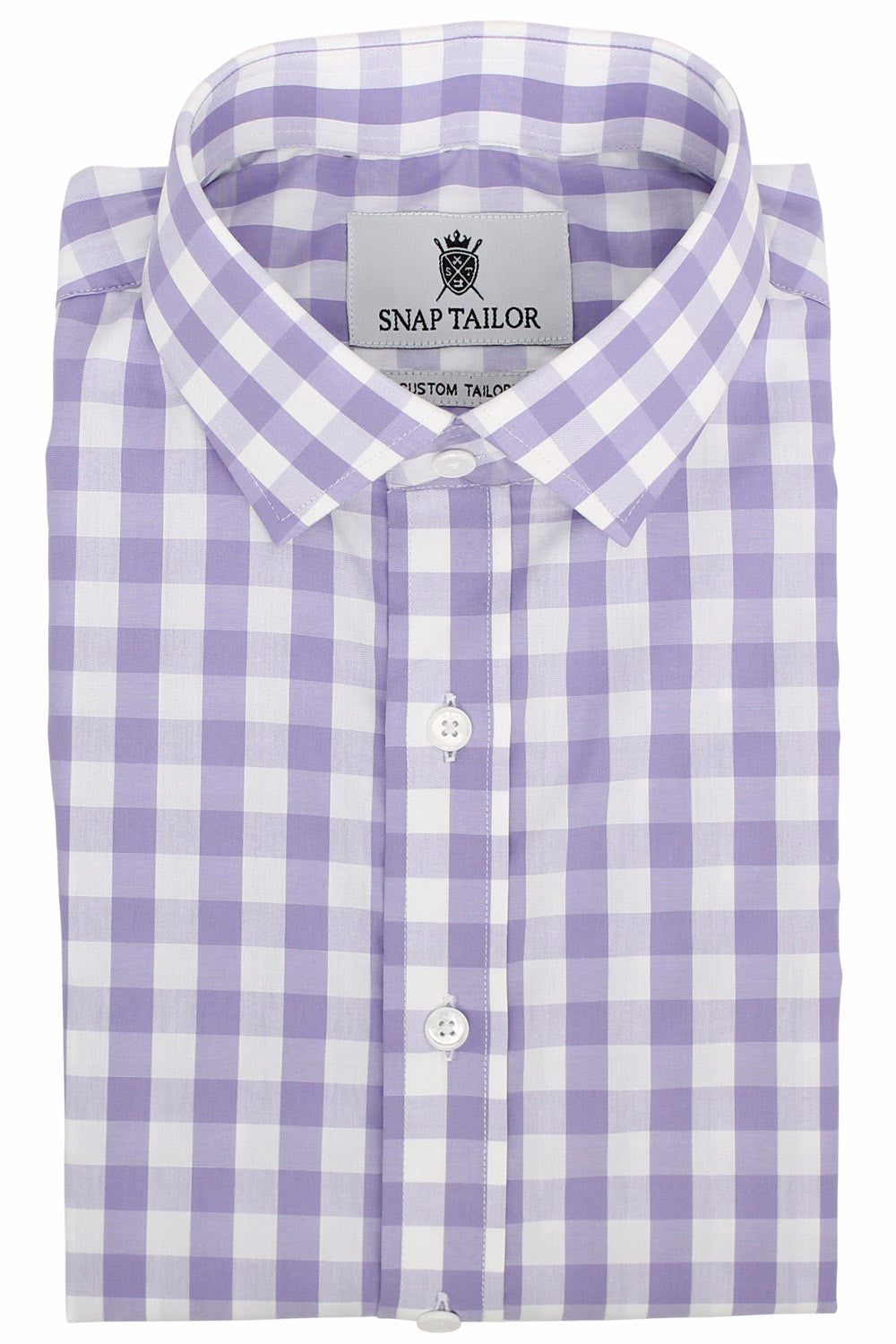 Photo of the Gingham Casual Shirt in Lavender