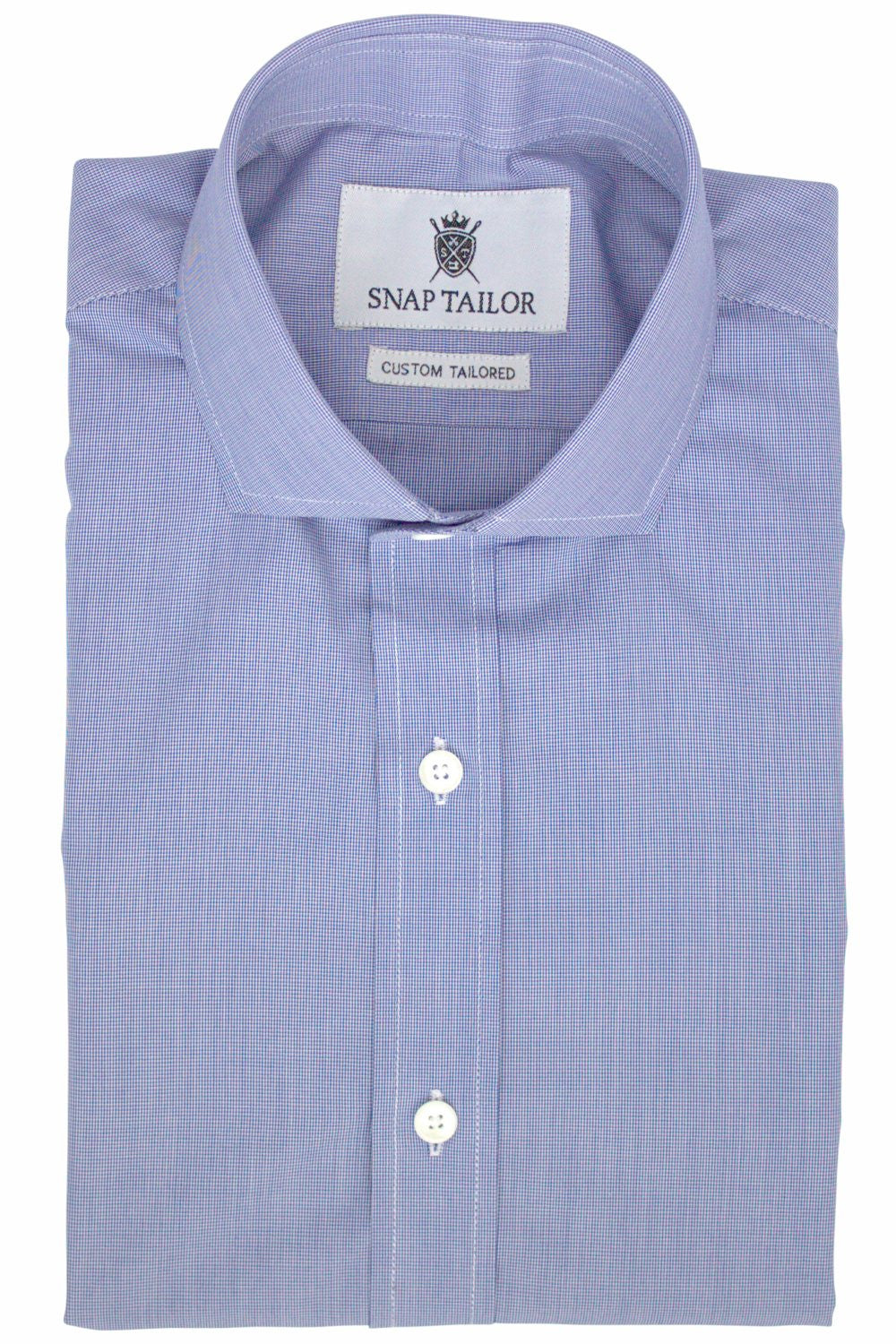 Photo of the Microgrid Dress Shirt in Dark Blue