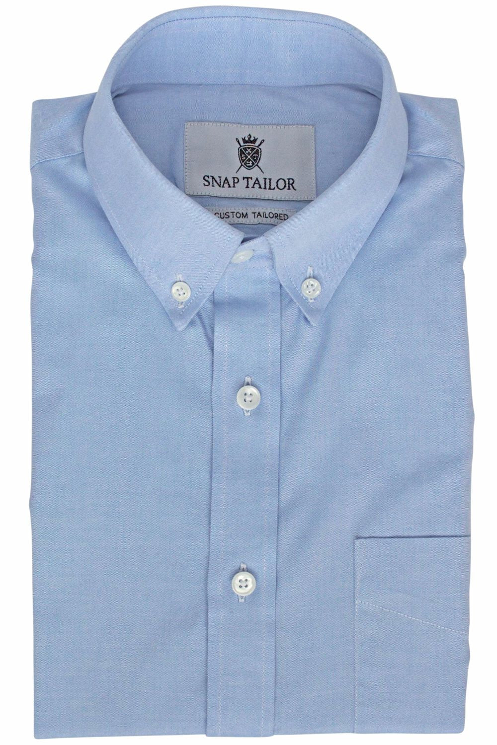 Photo of the Oxford Solid Dress Shirt in Blue