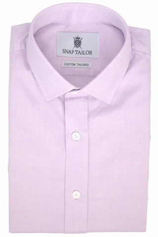 Photo of the Oxford Solid Dress Shirt in Purple