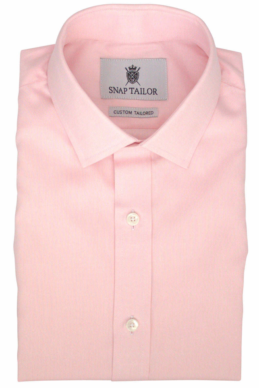 Photo of the Oxford Solid Dress Shirt in Soft Pink