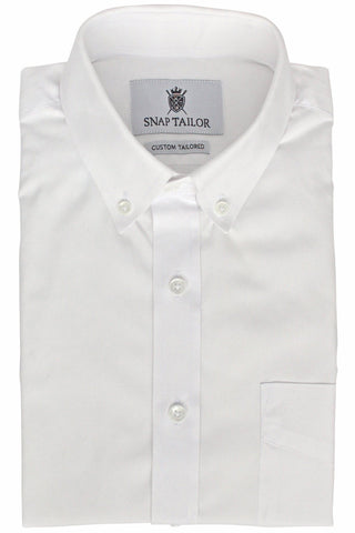 Photo of the Oxford Solid Dress Shirt in White