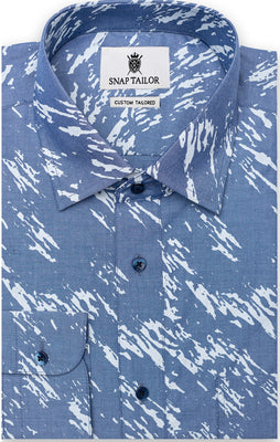 The Light Weight Fulan No Feel Printed Camo Shirt