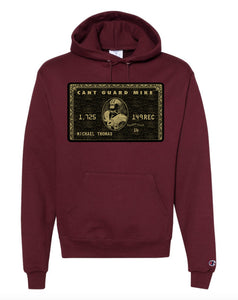 "Can't Guard Mike ""Black Card"" Champion Hoodie"