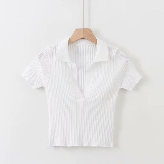 Baby - cropped Polo shirt