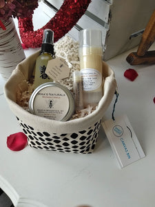 Bee Happy Self Care Gift Basket