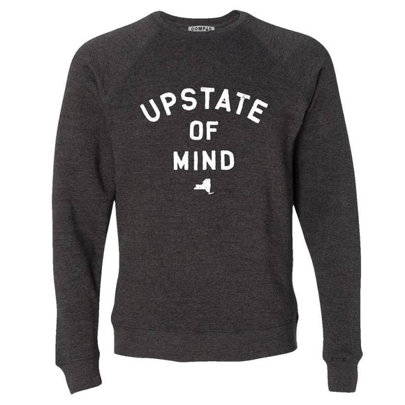 Upstate of Mind Crew Fleece - Gray