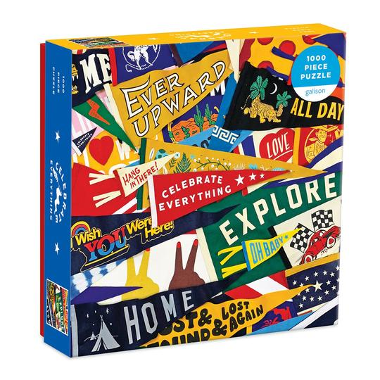 Celebrate Everything 1,000 Piece Puzzle in Square Box
