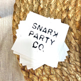 The SNARK PARTY  CO. logo