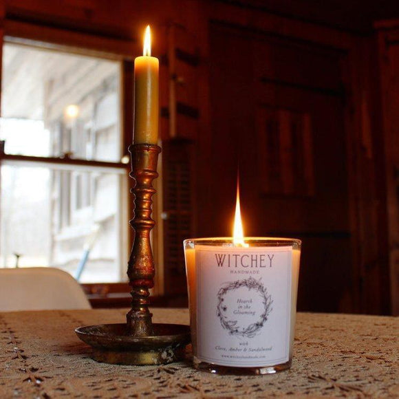 Hearth in the Gloaming Scented Candle-Witchey Handmade-