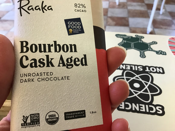 Raaka 58% Bourbon Cask Aged Chocolate Bar