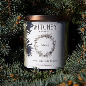 Labyrinth Scented Candle-Witchey Handmade-