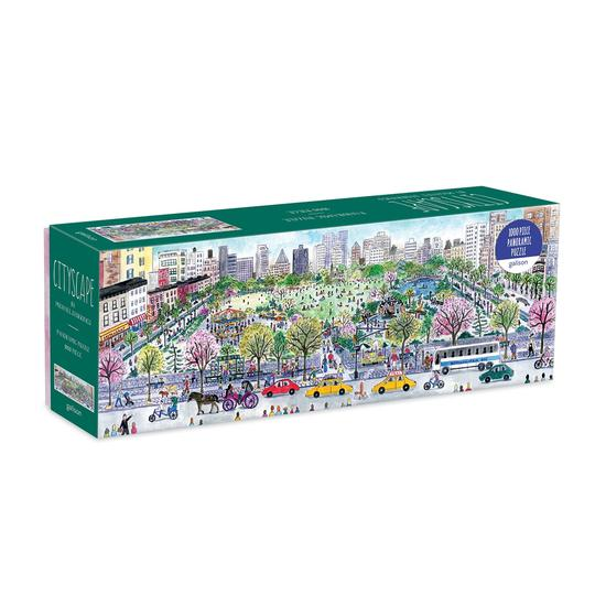 Michael Storrings Cityscape Panoramic Puzzle